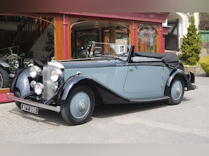Bentley 3 ½ litre 1934 Drophead Coupe by Barker For Sale (picture 1 of 10)