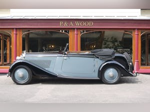 Bentley 3 ½ litre 1934 Drophead Coupe by Barker For Sale (picture 2 of 10)