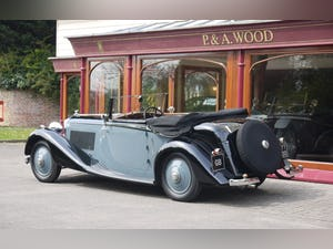 Bentley 3 ½ litre 1934 Drophead Coupe by Barker For Sale (picture 6 of 10)