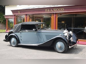 Bentley 3 ½ litre 1934 Drophead Coupe by Barker For Sale (picture 7 of 10)