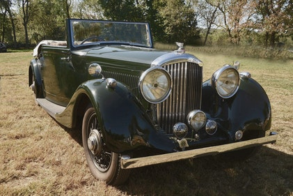 Picture of 1936 Bentley 4 1/4 overdrive Park Ward drop head coupe For Sale