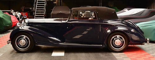 Picture of 1937 DERBY BENTLEY 4 1/4 DISAPPEARING ROOF, H J MULLINER CON For Sale