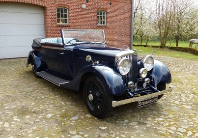 Picture of 1934 Bentley 3 1/2 Litre DHC - Elegant, authentic, reliably For Sale