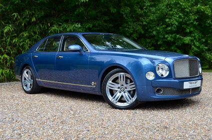 Picture of 2010 BENTLEY MULSANNE 2011 Launch spec For Sale
