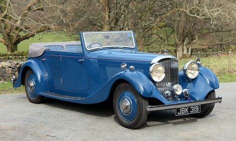Picture of 1936 Bentley 4 ¼ Ltr 4dr All-Weather Tourer By Steve Penny For Sale