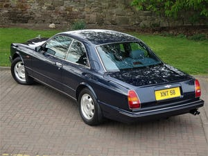 1994 Bentley Continental R 6.8 Coupe (ONLY 2 Owners) For Sale (picture 2 of 12)