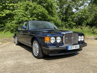 Picture of 1990 Low Mileage Bentley 8 In Royal Blue For Sale