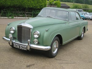 1961 Bentley S II Continental 2 Door Coupe  By H.J. Mulliner For Sale (picture 1 of 7)
