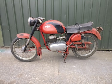 Picture of 1957 BIANCHI MEDOLA. ITALIAN 125 MOTORCYCLE For Sale