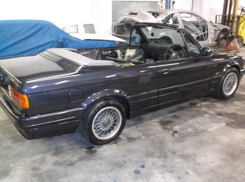 1990 E30 325 Motorsport convertible macau grey tex leather For Sale (picture 3 of 6)