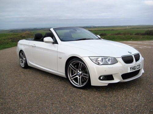 2011 BMW 335i Twin Turbo DCT Convertible With Only 27,000 Miles For Sale (picture 1 of 6)