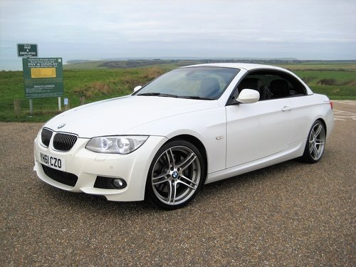 2011 BMW 335i Twin Turbo DCT Convertible With Only 27,000 Miles For Sale (picture 2 of 6)
