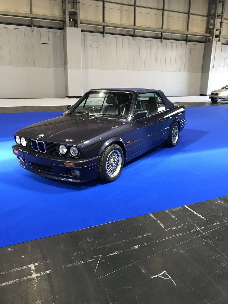 1990 E30 325 Motorsport convertible macau grey tex leather For Sale (picture 1 of 6)