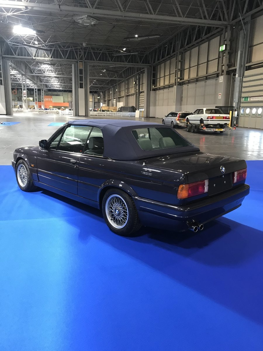 1990 E30 325 Motorsport convertible macau grey tex leather For Sale (picture 2 of 6)