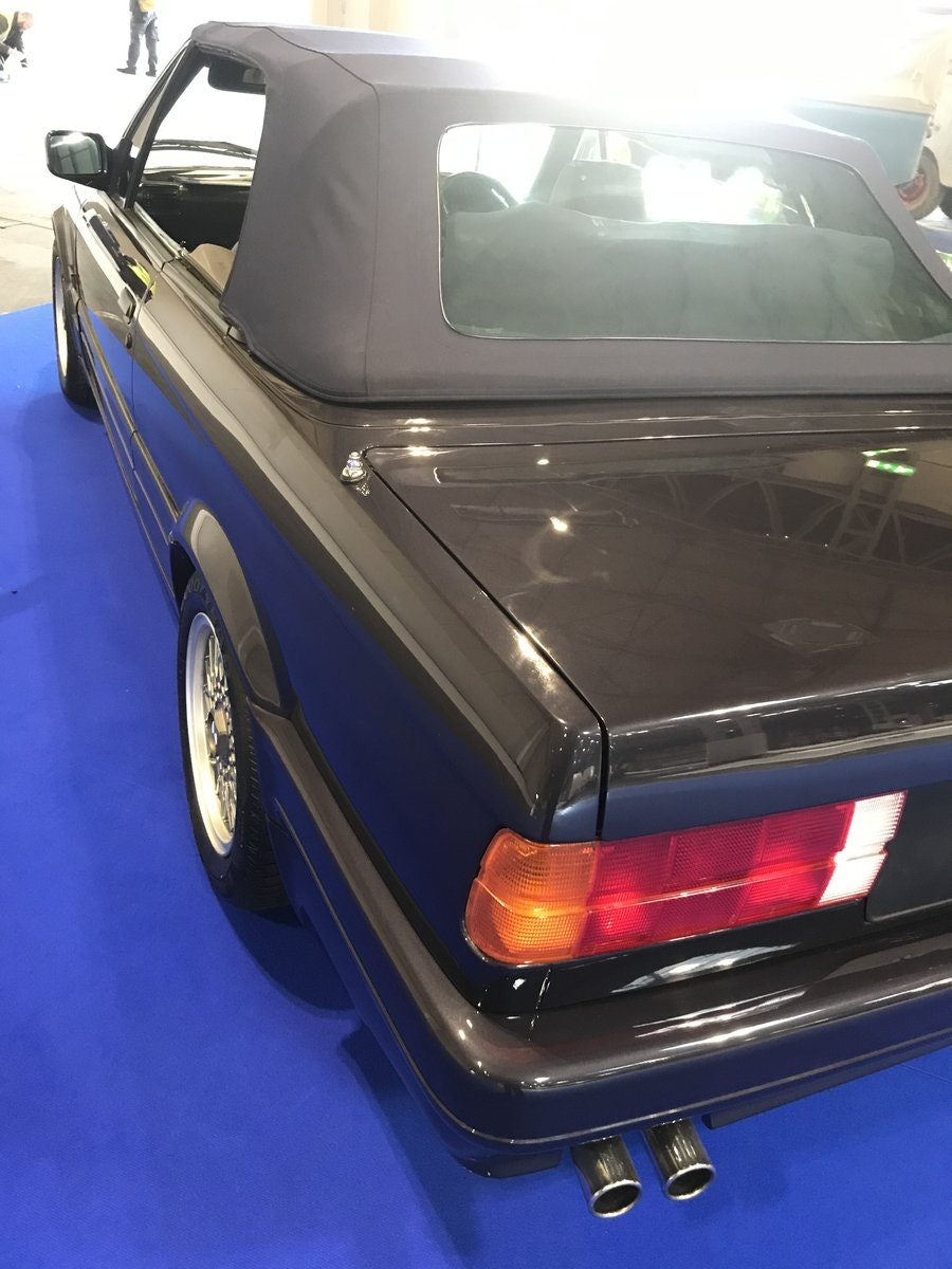 1990 E30 325 Motorsport convertible macau grey tex leather For Sale (picture 5 of 6)