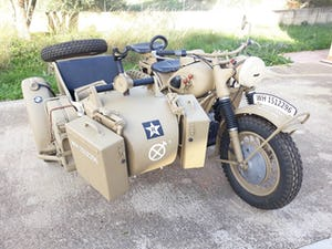 1943 BMW R75 Afrika Korps Military Sidecar -f. restored For Sale (picture 1 of 6)