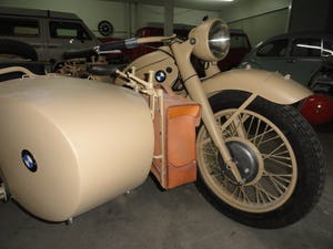 1939 BMW R12 militar motorcycle with SIDE CAR For Sale (picture 1 of 6)