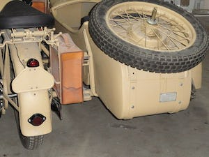 1939 BMW R12 militar motorcycle with SIDE CAR For Sale (picture 3 of 6)
