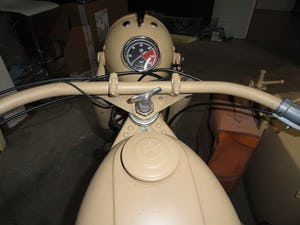 1939 BMW R12 militar motorcycle with SIDE CAR For Sale (picture 5 of 6)