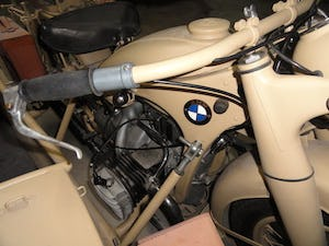 1939 BMW R12 militar motorcycle with SIDE CAR For Sale (picture 6 of 6)