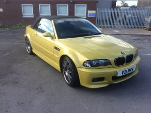 2002 Bmw E46 m3 cabriolet  For Sale (picture 1 of 6)