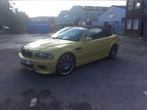 2002 Bmw E46 m3 cabriolet  For Sale (picture 4 of 6)