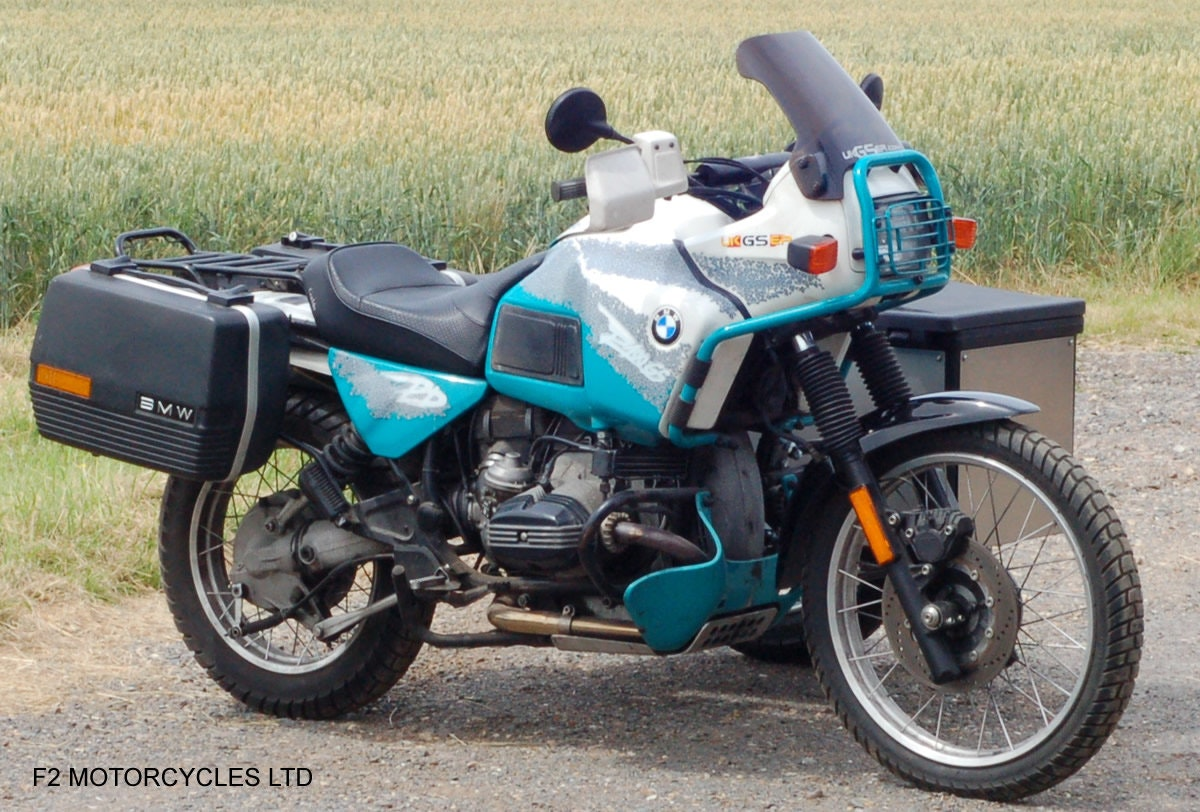 1993 BMW R100GS PD solo £7200 or with sidecar £8750 For Sale (picture 1 of 6)