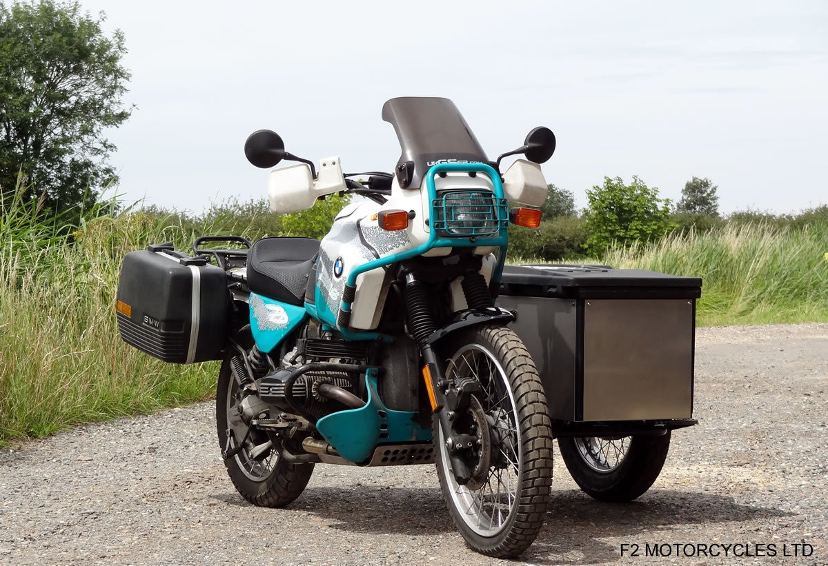 1993 BMW R100GS PD solo £7200 or with sidecar £8750 For Sale (picture 3 of 6)