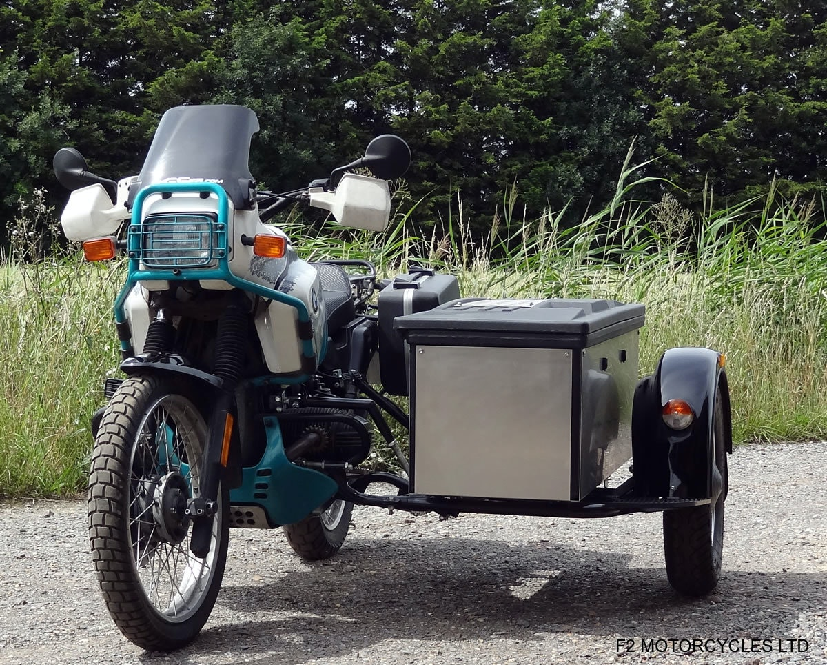1993 BMW R100GS PD solo £7200 or with sidecar £8750 For Sale (picture 4 of 6)