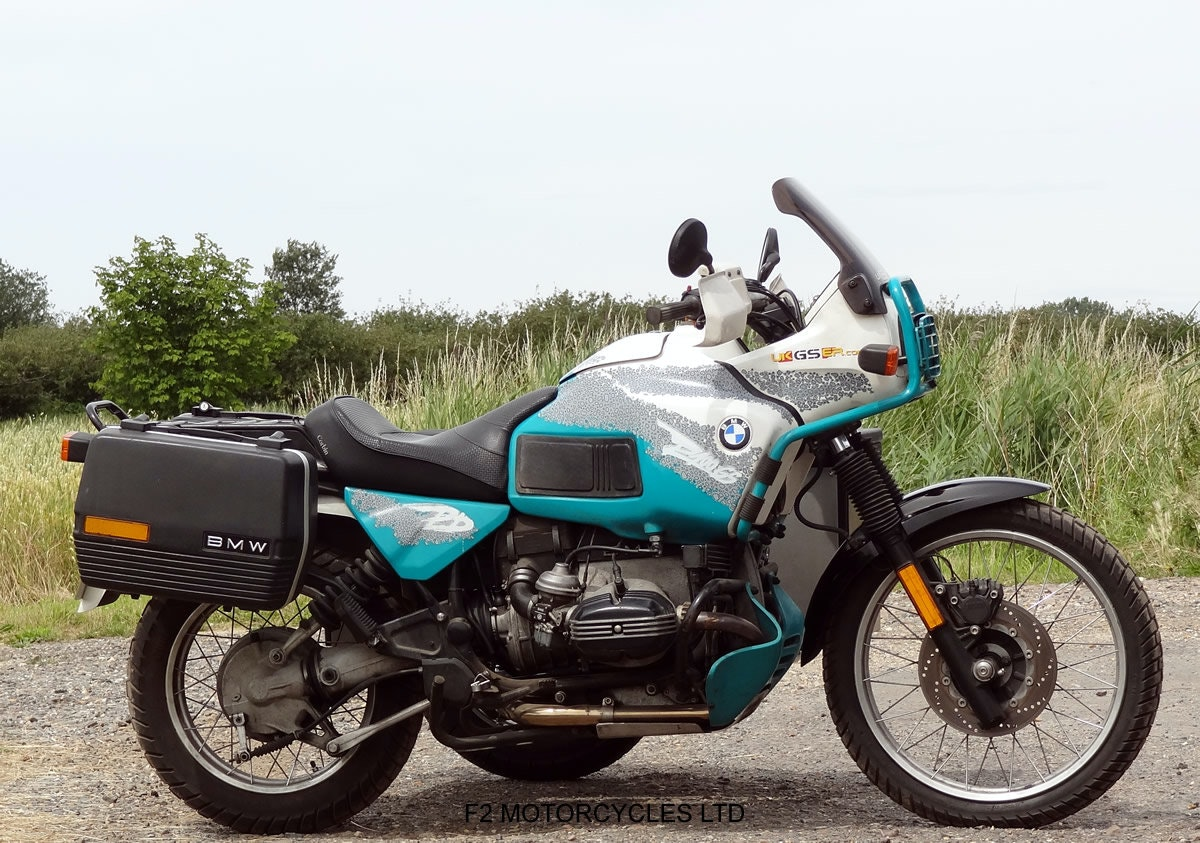 1993 BMW R100GS PD solo £7200 or with sidecar £8750 For Sale (picture 6 of 6)