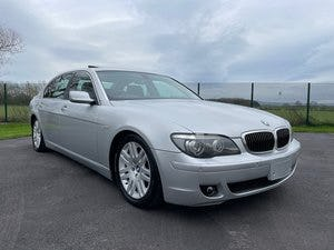 2008 BMW 7 SERIES 750li 4.8 AUTOMATIC LWB * SUNROOF * LOW MILEAGE For Sale (picture 1 of 6)