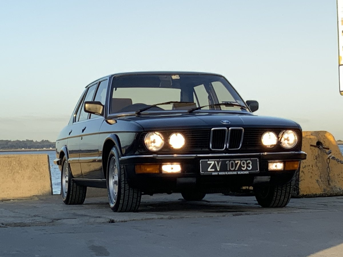 1985 M535i - Probably the Best RHD E28 SOLD (picture 1 of 6)