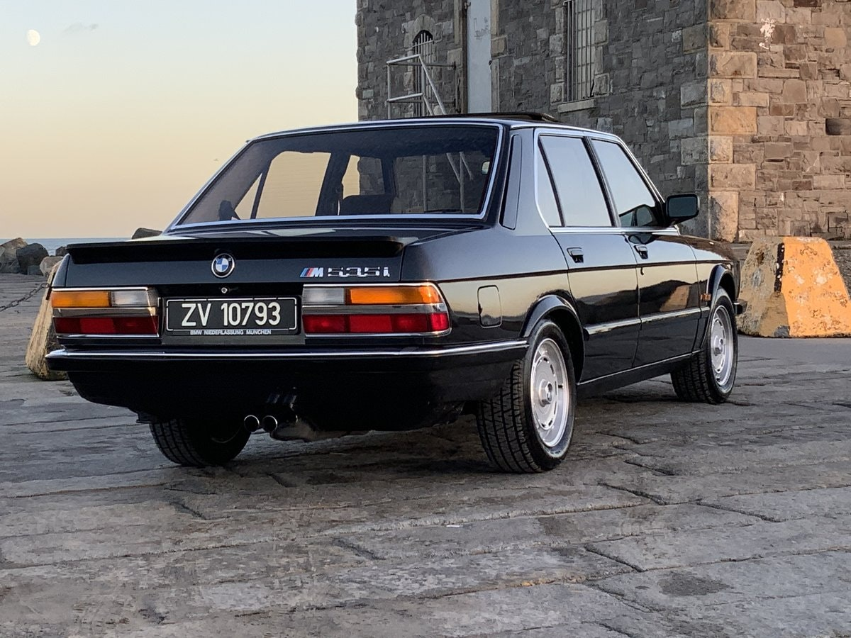 1985 M535i - Probably the Best RHD E28 SOLD (picture 2 of 6)