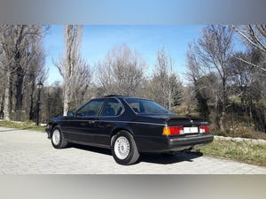 1988 Superb bmw 635 csi manual. Clima, full history! For Sale (picture 5 of 12)