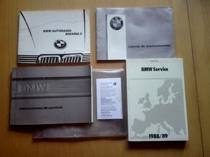 1988 Superb bmw 635 csi manual. Clima, full history! For Sale (picture 9 of 12)