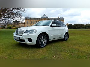2013 BMW X5 3.0 XDRIVE40D M-SPORT, 302 BHP TWIN TURBO DIESEL For Sale (picture 1 of 12)