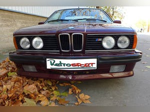 1984 BMW M635 CSi two owners Full history from new For Sale (picture 2 of 6)