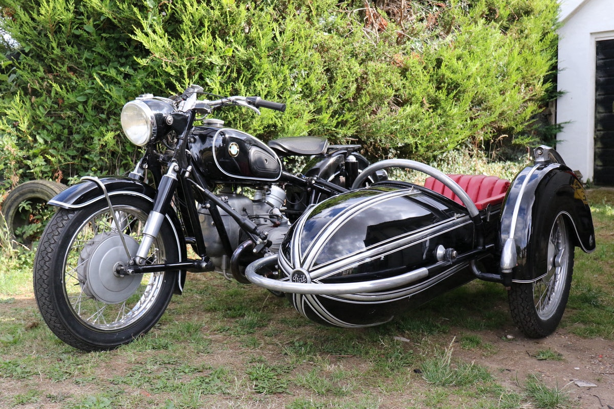 1965 Dunhill BMW R60/2 & Steib 501 Combination For Sale (picture 2 of 7)