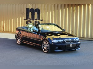 2003 BMW E46 M3 convertible manual FSH 2 keys For Sale (picture 1 of 12)