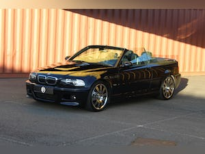 2003 BMW E46 M3 convertible manual FSH 2 keys For Sale (picture 2 of 12)