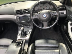 2003 BMW E46 M3 convertible manual FSH 2 keys For Sale (picture 9 of 12)