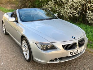 2006 BMW 6 SERIES 4.8 650i V8 SPORT CONVERTIBLE! For Sale (picture 3 of 12)