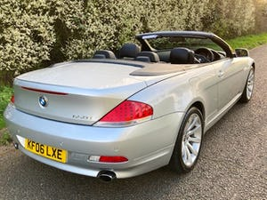 2006 BMW 6 SERIES 4.8 650i V8 SPORT CONVERTIBLE! For Sale (picture 4 of 12)