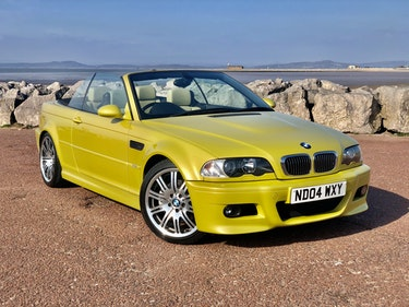 Picture of 2004 Outstanding BMW M3 E46 Manual Convertible Phoenix yellow For Sale