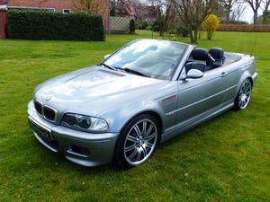2006 BMW M3 Convertible - the top model of series E46 For Sale (picture 1 of 10)