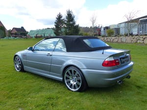 2006 BMW M3 Convertible - the top model of series E46 For Sale (picture 4 of 10)