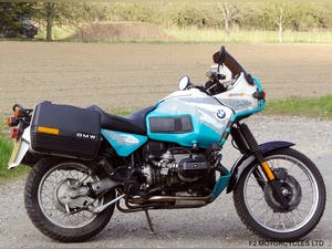 1993 BMW R100GSPD MOTed, one owner, runs and rides very well. For Sale (picture 1 of 7)