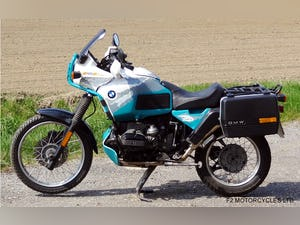 1993 BMW R100GSPD MOTed, one owner, runs and rides very well. For Sale (picture 2 of 7)
