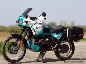 1993 BMW R100GSPD MOTed, one owner, runs and rides very well. For Sale (picture 4 of 7)