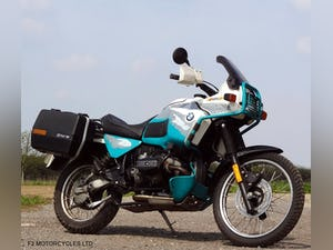 1993 BMW R100GSPD MOTed, one owner, runs and rides very well. For Sale (picture 6 of 7)